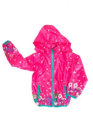 Ветровка для девочки, артикул: AKK0264 купить оптом