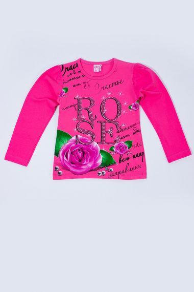 Толстовка для девочки, артикул: BOR1004 купить оптом